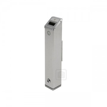 Cigarette Bin Stainless Outdoor Wall Mounted