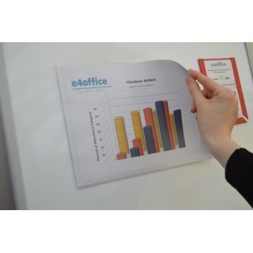 A3 Magnetic Landscape Document Pockets (3 pack)