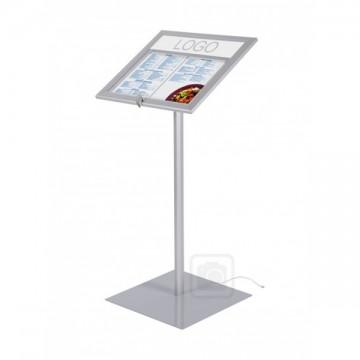 Illuminated Menu Display Free Standing
