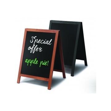 Chalkboard A Frame Pavement Sign Flat profile 55 x 85